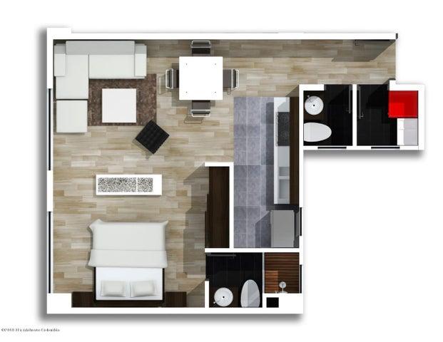 Apartamento Bogota D.C.>Bogota>Nueva Autopista - Venta:500.000.000 Pesos - codigo: 20-425