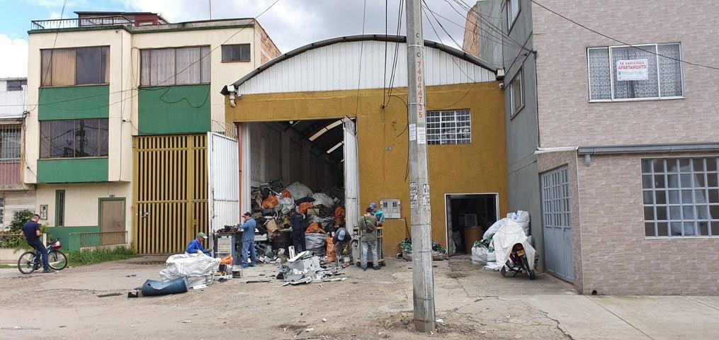 Bodega Bogota D.C.>Bogota>Ricaurte - Venta:950.000.000 Pesos - codigo: 20-571