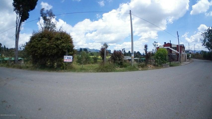Terreno Cundinamarca>Cogua>Vereda Rodamontal - Venta:195.000.000 Pesos - codigo: 21-525