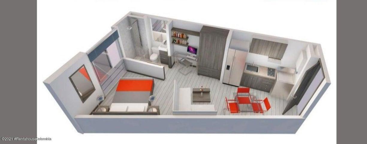 Apartamento Bogota D.C.>Bogota>Gratamira - Venta:160.000.000 Pesos - codigo: 21-524