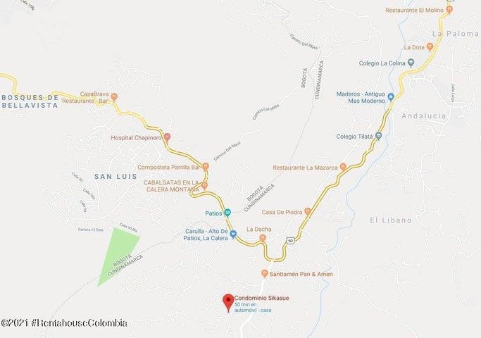Terreno Cundinamarca>La Calera>Vereda El Libano - Venta:1.600.000.000 Pesos - codigo: 22-409