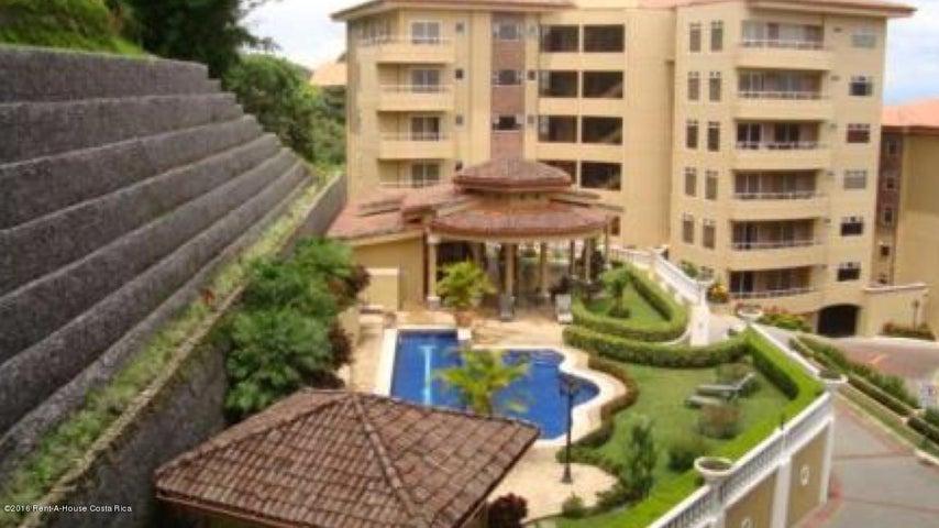 Apartamento San Jose>San Rafael Escazu>Escazu - Alquiler:2.200 US Dollar - codigo: 16-208