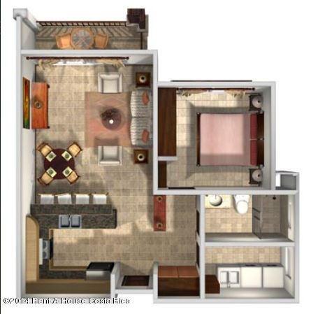 Apartamento Heredia>San Antonio>Belen - Venta:130.000 US Dollar - codigo: 17-819