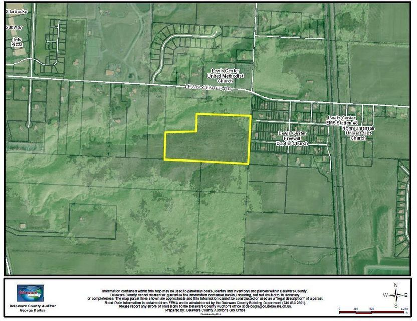0 Lewis Center Rd 16.18 Acres, Lewis Center, OH 43035
