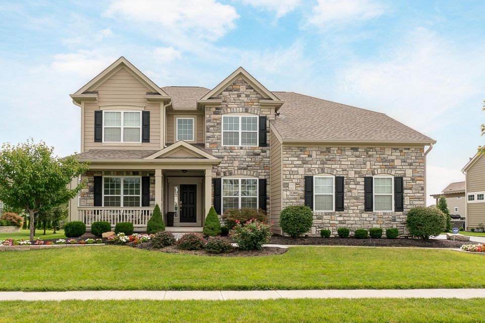 Exceptional 4 BR, 3.1 BA home is offered in move-in ready condition! | 1240 Stone Trail Drive, Blacklick, OH 43004