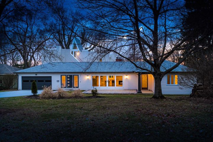 Walk to downtown Worthington from this recently expanded & remodeled modern family home.