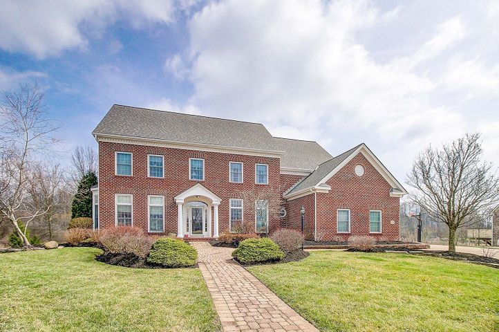Stately all brick home located in a great community!