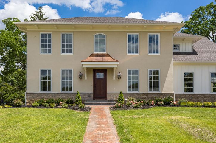 This 5200 sq. ft. 5 bed, 4 bath, 2 half bath home has a great blend of modern luxury and traditional character.