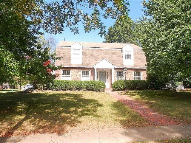 Worthington home on a large corner lot.