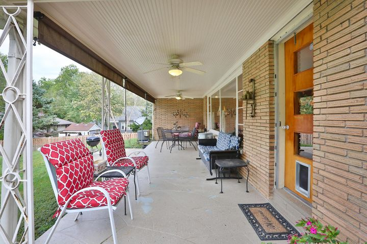 Fabulous covered patio!