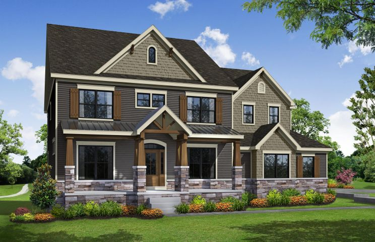 Parade Home artists rendering.