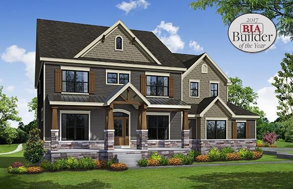 Parade Home artists rendering. Builder awarded 2017 BIA Builder of the Year!