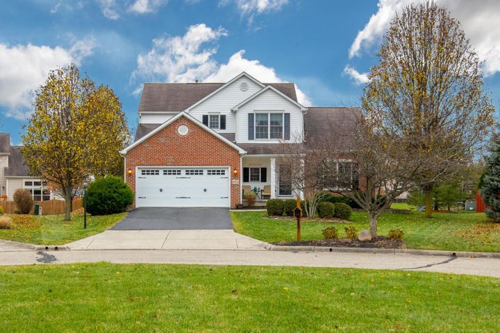 Welcome home! This beautiful 2-story home sits on a quiet cul-de-sac in Westerville!