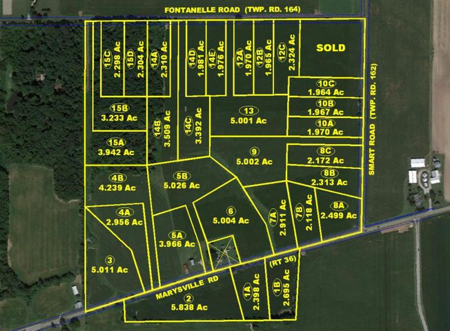 0 Marysville Road, Tract 1A, Ostrander, OH 43061