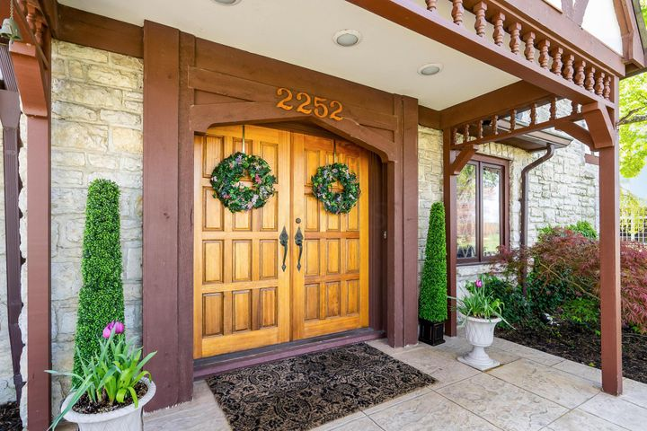 A gorgeous Tudor across the street from Scioto Country Club!