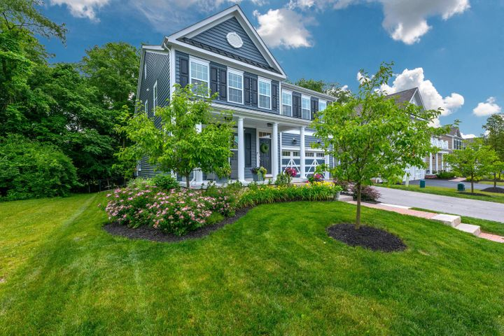 Welcome home! Pride of ownership shows throughout this beautiful 4 bedroom, 2.5 bath home in Village at Central College!