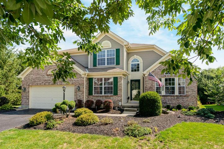 Don't miss this spacious, 2 story home in the desirable Meadows at Wyndham Village!You will love the separate living spaces within this open floor plan & 1,100 finished space in the LL. Featuring a 1st floor master BR w/ private bath, 1st floor laundry, kitchen w/ new refrigerator & stove that opens up to eating space & 2-story great room w/ gas fireplace & a lot of natural light, den/office space, 1/2 bath & dining room. Upstairs you will find 3 BR & 1 full bath.And the basement offers a great room, workout room, additional office & workroom, full bathroom AND unfinished area for storage.Relax outside on the newly finished deck or patio overlooking the nature reserve.This is a one owner home that has been loved & cared for over the years & now it's time to make it yours!**See A2A remarks.