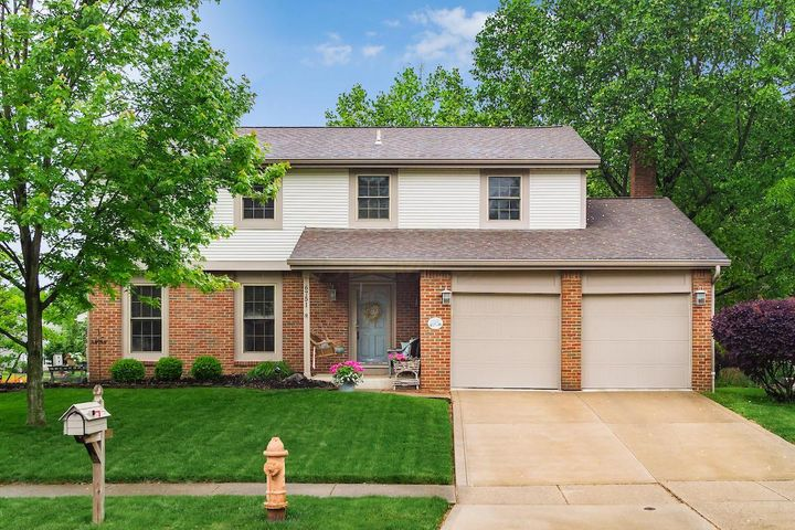 Charmingly appointed in every way!  Beautiful new Kitchen cabinets w/granite , stacked stone back splash, & SS appliances,  updated lighting , updated baths with granite and ceramic tile, Hrdwd flrs , all windows replaced 2012, HVAC replaced 2012 , soffits & gutters in 2012.    Formal Living and Dining  Rooms w/ hardwd flrs,  Family Room w/ wood burning FP, stacked stone surround , beautiful white wood trim .  Tastefully decorated with today's colors and finishes.   Meticulously manicured landscaping,