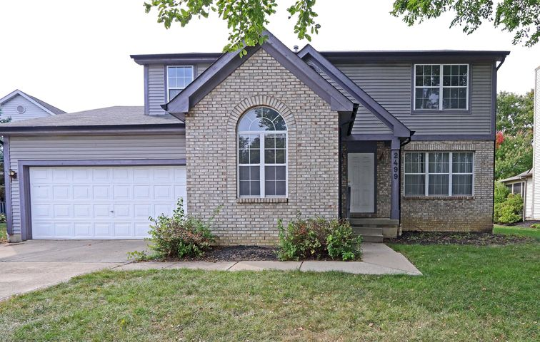 Spacious 4 Bedroom, 2-1/2 Bath center hall floor plan home, set on a quiet cul-de-sac in a great neighborhood with Hilliard Schools. This home needs some TLC & is being sold 'As Is' and is priced accordingly. (See A2A for additional info). This residence has a fabulous floorplan with 2-story Foyer, separate Den/Office with vaulted ceiling, formal Living Room & Dining Room with tray ceiling, Kitchen with island & bay window Dinette, Family Room with sliding glass door to the fenced back yard with large concrete Patio & lots of space for outdoor activities. 1st floor Powder Room & Laundry Room. There are 4 upper level BRs including the Owner's Suite with private Bath & walk-in closet. Basement with finished room plus unfinished space for storage, workshop & more. 2 car Garage. Must see!!
