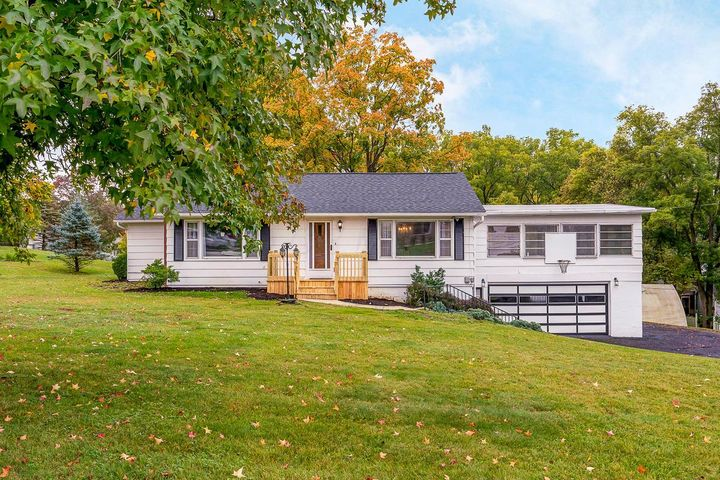 Don't miss this rare opportunity! This raised ranch-style home is situated on an acre of land w/ stunning mature trees & is located within just a couple of miles from all of the shops & restaurants that Downtown Delaware has to offer! A lot like this is hard to come by in city limits! The first floor offers 2 bedrooms & 1 full bath, a generous sized open-concept living & dining area, kitchen & spacious 4 seasons room. The lower level offers a mother-in-law suite w/ a full kitchen, bedroom, full bathroom, laundry & walk-out. Lower level is perfect for multi-family use, hosting guests, or a teen or in-law suite! Various businesses/uses are permitted such as daycare. Seller has completed many updates throughout including new bathroom, flooring, paint, added central air, etc. *SEE A2A REMARKS*