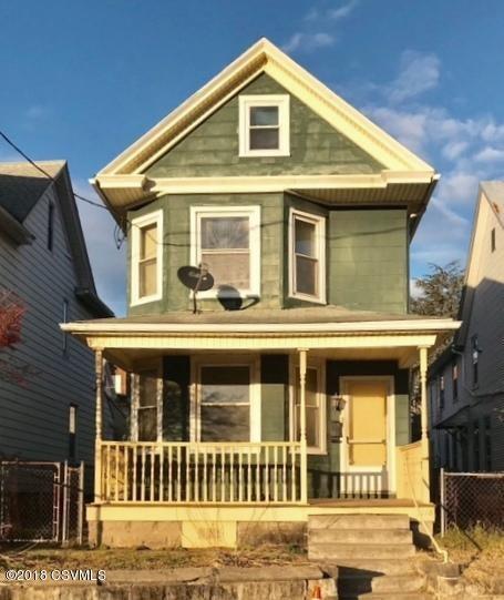 1118 WOLVERTON Street, Sunbury, PA 17801