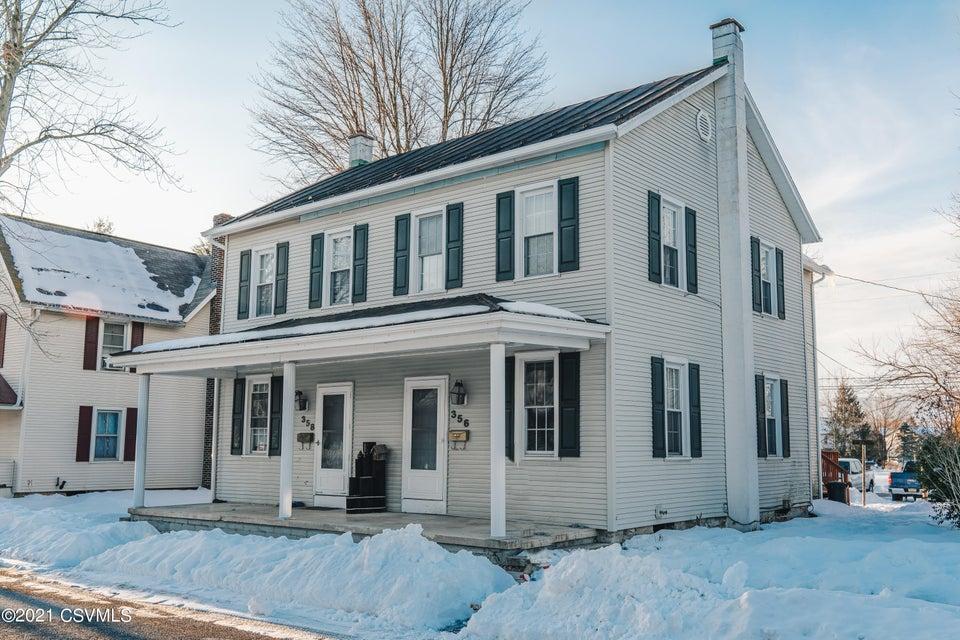 356-358 THOMPSON Street, Mifflinburg, PA 17844