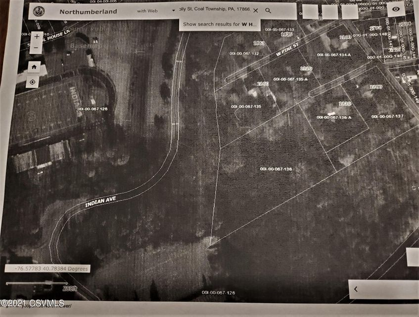 HOLLY Street, Coal Township, PA 17866