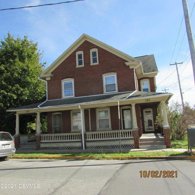 102-110 4TH Street, Northumberland, PA 17857