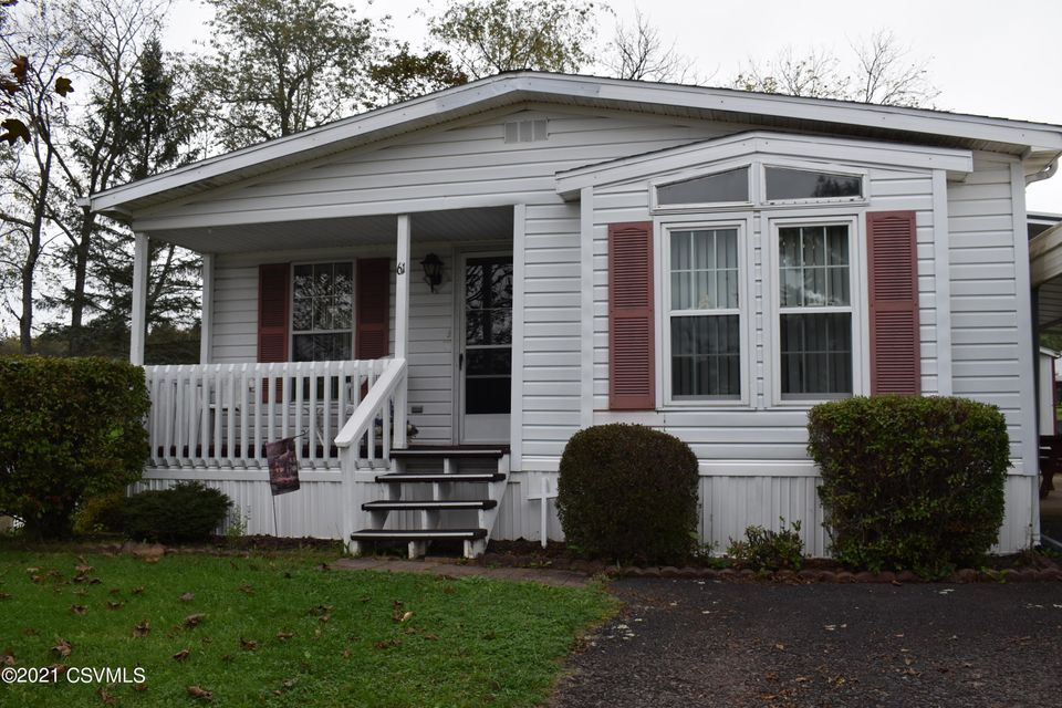 61 W OVERLOOK Street, Orangeville, PA 17859