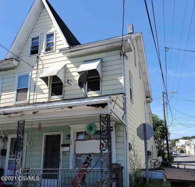 122 POPLAR Street, Coal Township, PA 17866