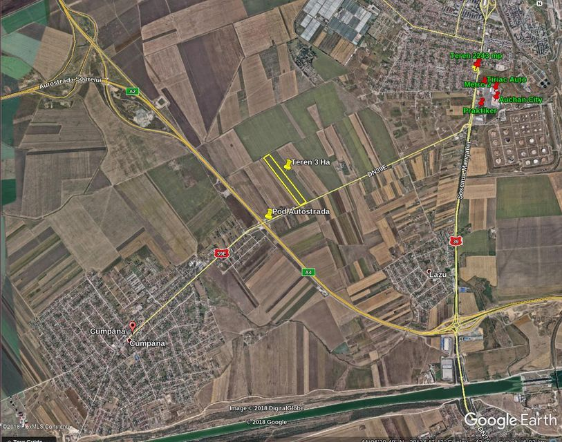 Vanzare Teren Intravilan 30000 m² - Cumpana, Cumpana