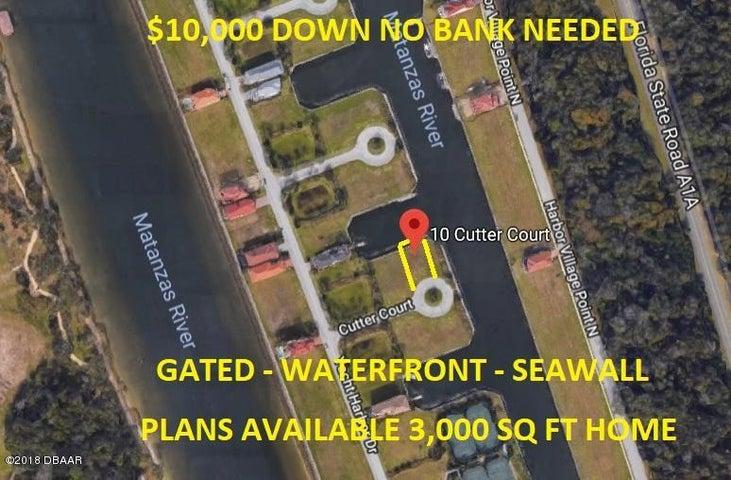 10 Cutter Court, Palm Coast, FL 32137