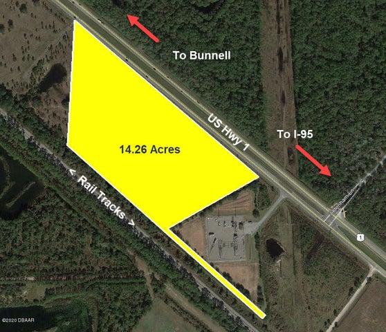 0 US 1 (14.26 AC) Highway, Bunnell, FL 32110