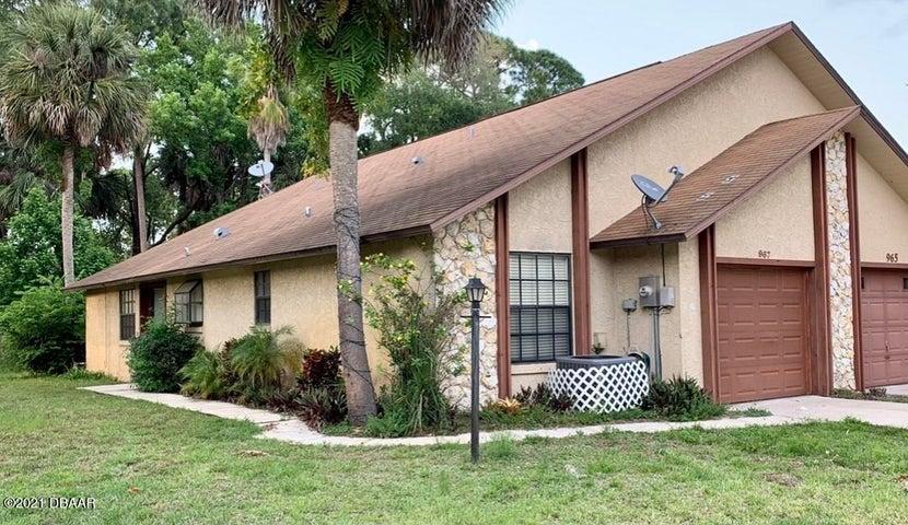 967 Stonybrook Circle, Port Orange, FL 32127