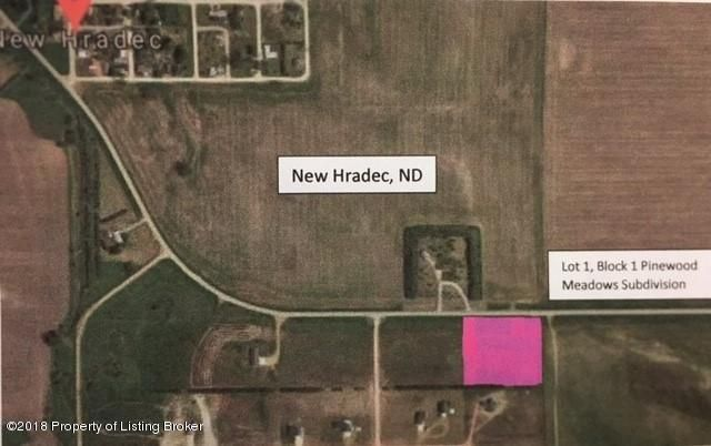 Lot 1 Block 1 of Pinewood Meadows Subdivision Located in New Hradec, roughly 12 miles north of Dickinson,ND