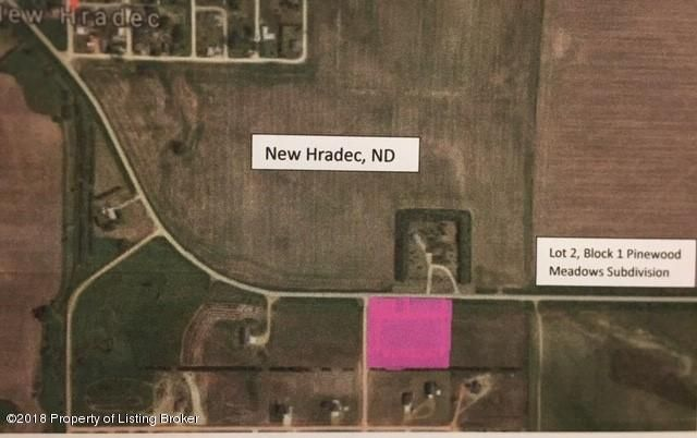Lot 2 Block 1 of Pinewood Meadows Subdivision Located in New Hradec, roughly 12 miles north of Dickinson,ND