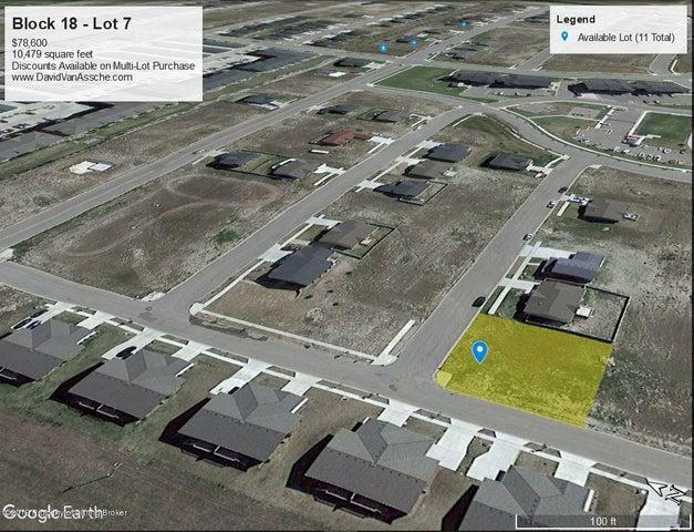 Block 18- Lot 7 Harvest Hills, Williston, ND 58801