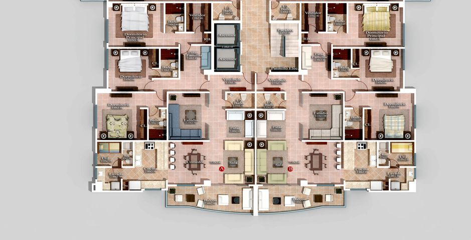 Apartamento Distrito Nacional>Santo Domingo>Naco - Venta:295.000 Dolares - codigo: 16-340