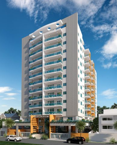 Apartamento Santo Domingo>Distrito Nacional>Naco - Venta:176.000 Dolares - codigo: 16-344