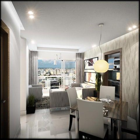Apartamento Distrito Nacional>Santo Domingo>Mirador Norte - Venta:142.500 Dolares - codigo: 16-429