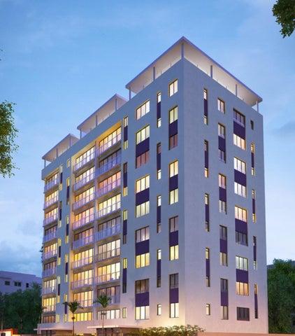 Apartamento Santo Domingo>Distrito Nacional>Evaristo Morales - Venta:240.000 Dolares - codigo: 16-512