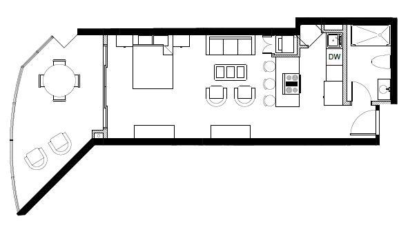 Apartamento San Pedro de Macoris>Juan Dolio>Juan Dolio - Venta:115.320 Dolares - codigo: 17-134