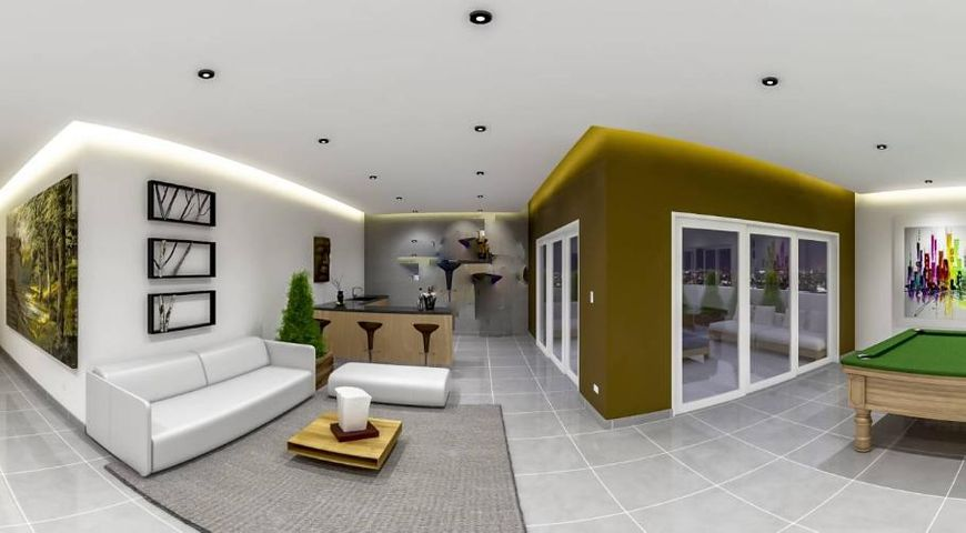 Apartamento Distrito Nacional>Santo Domingo Dtto Nacional>Naco - Venta:122.000 Dolares - codigo: 17-288