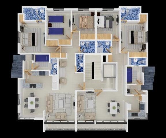 Apartamento Santo Domingo>Distrito Nacional>Mirador Sur - Venta:156.000 Dolares - codigo: 17-289