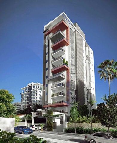 Apartamento Distrito Nacional>Santo Domingo>Naco - Venta:113.600 Dolares - codigo: 17-347