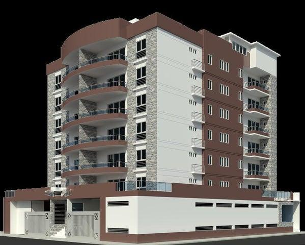 Apartamento Santo Domingo>Distrito Nacional>Evaristo Morales - Venta:187.000 Dolares - codigo: 17-604