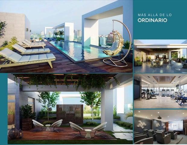 Apartamento Distrito Nacional>Santo Domingo>Piantini - Venta:126.300 Dolares - codigo: 17-610