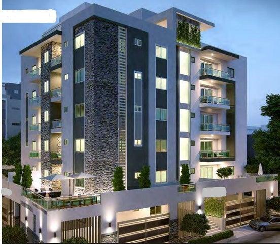 Apartamento Distrito Nacional>Santo Domingo>El Millon - Venta:147.500 Dolares - codigo: 17-672