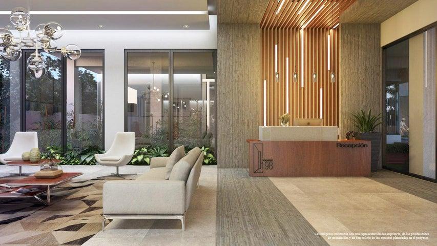 Apartamento Santo Domingo>Distrito Nacional>Los Cacicazgos - Venta:90.000 Dolares - codigo: 17-720