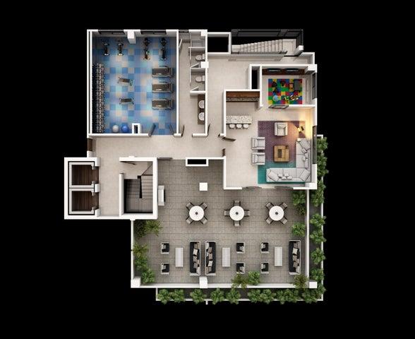 Apartamento Distrito Nacional>Santo Domingo>Piantini - Venta:253.795 Dolares - codigo: 17-874